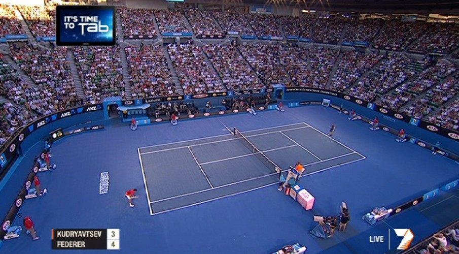#AusOpen App facing teething issues